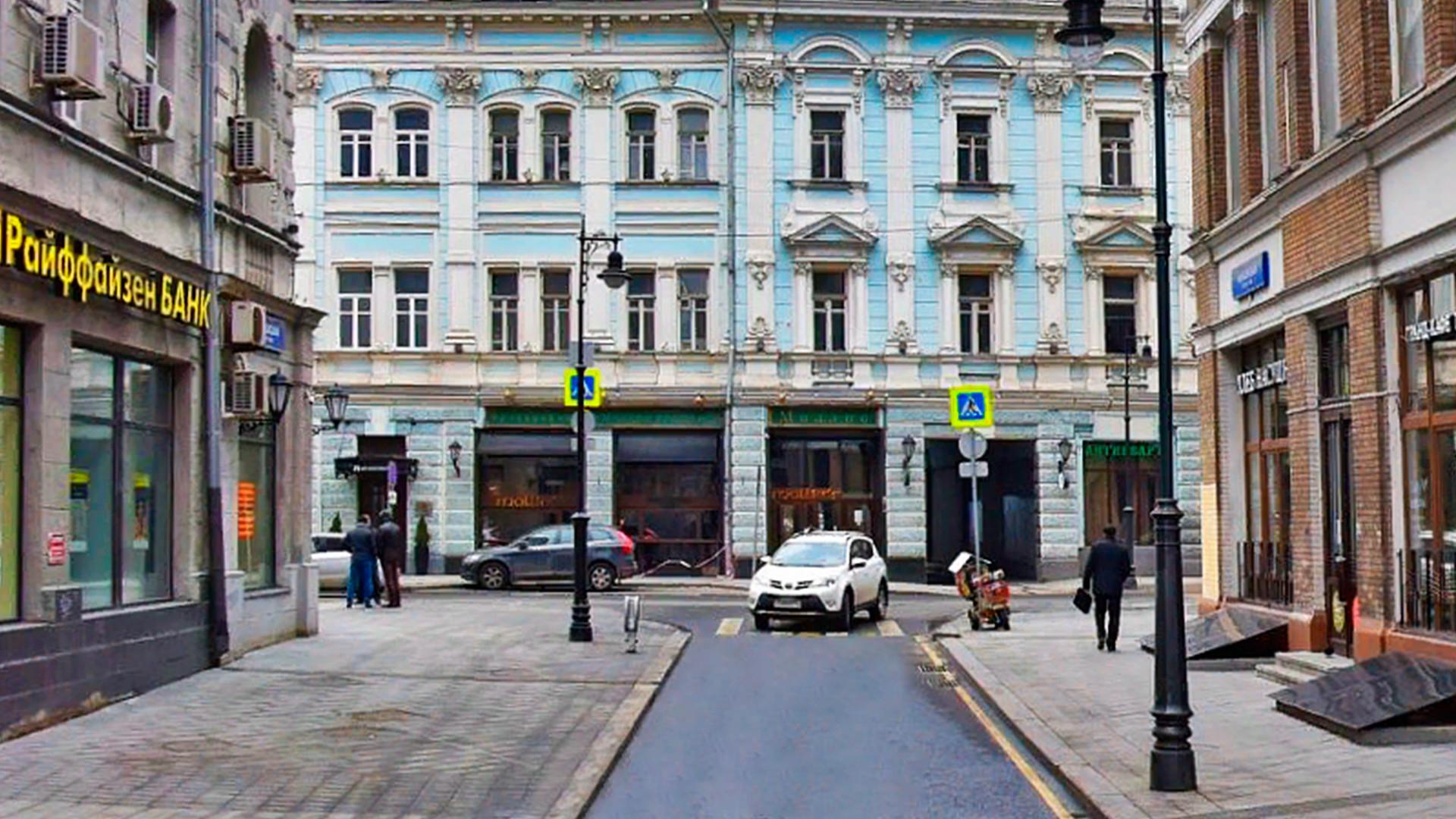 Банковски переулок