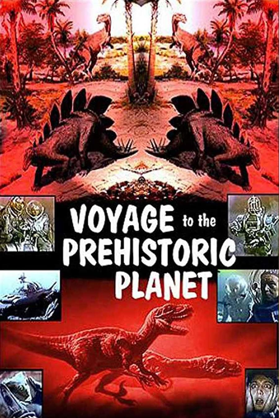 """Pôster de""""O Planeta Pré-Histórico"""""""