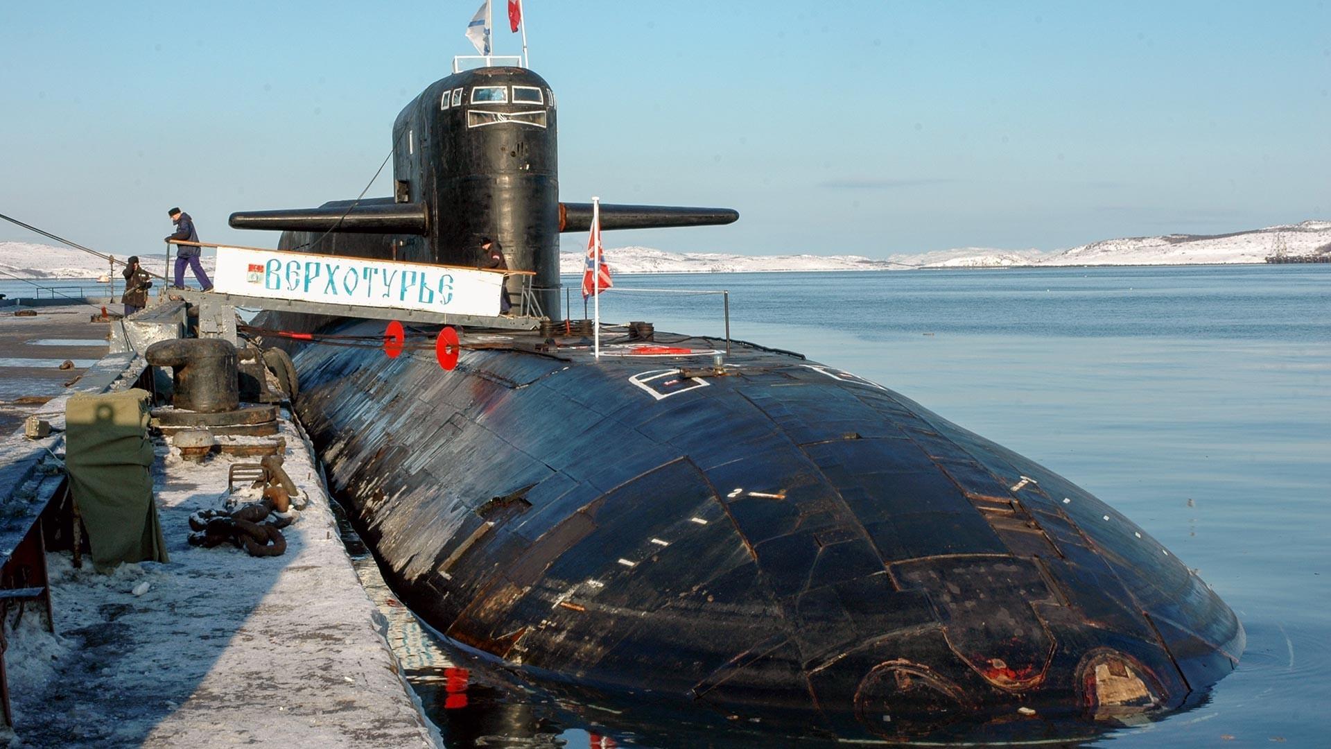 Нуклеарната подморница К-51