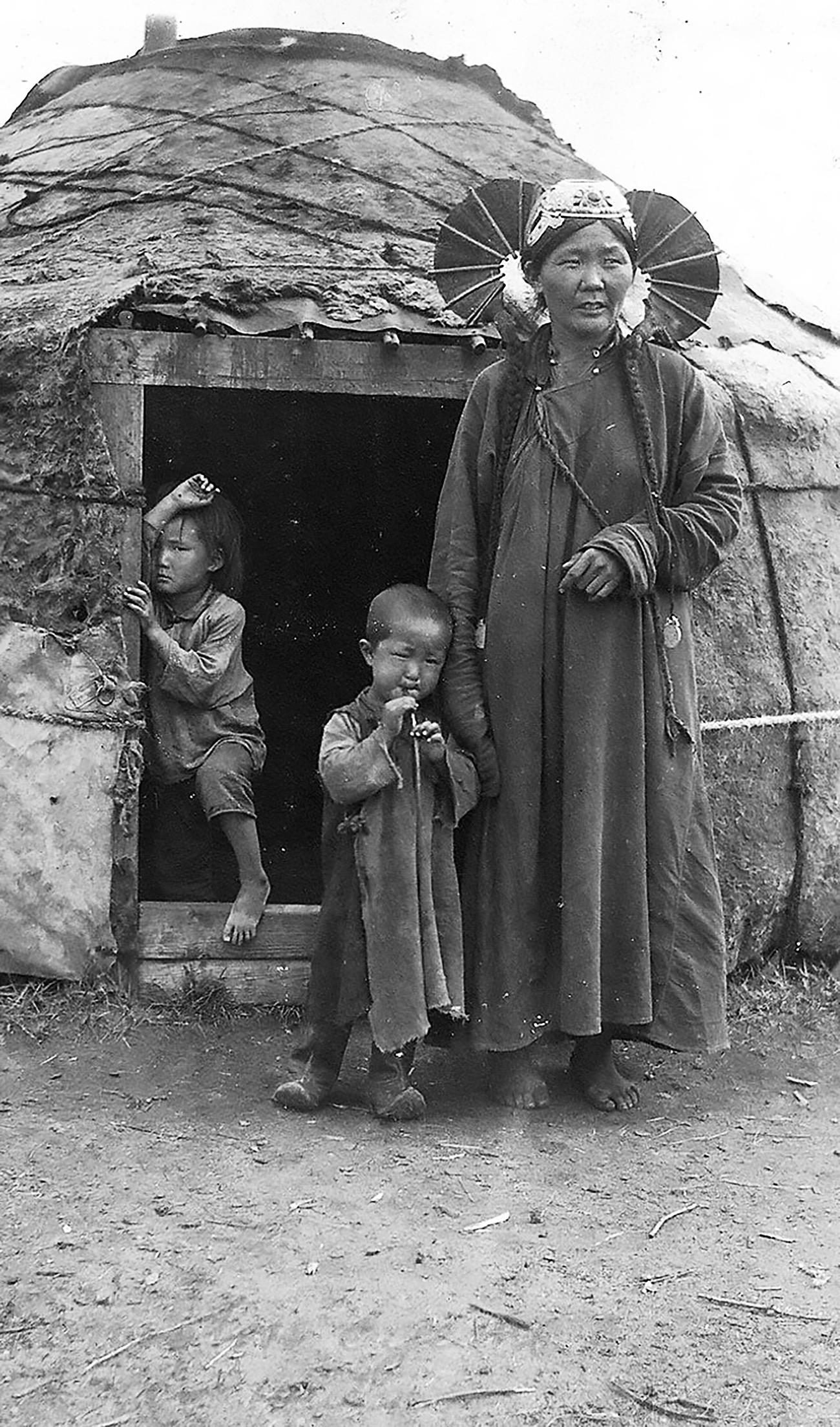 Mongolia pada awal abad ke-20.