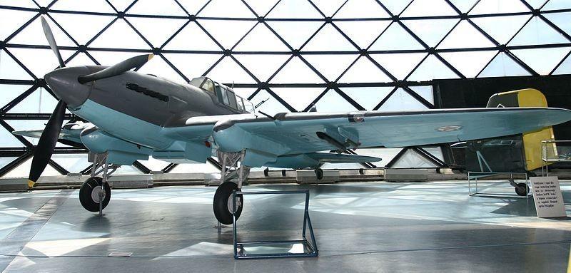 Ил-2 изложен во белградскиот Музеј на воздухопловството.