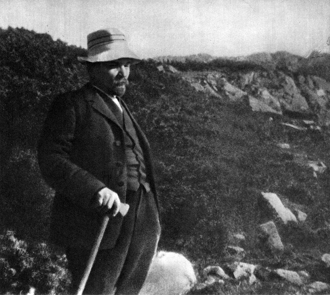 Vladímir Lenin en Zakopane, Polonia, 1914