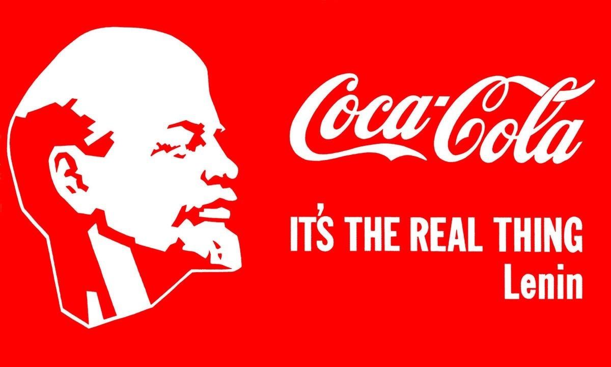 Lénine-Coca-Cola par Alexandre Kossolapov, 1982