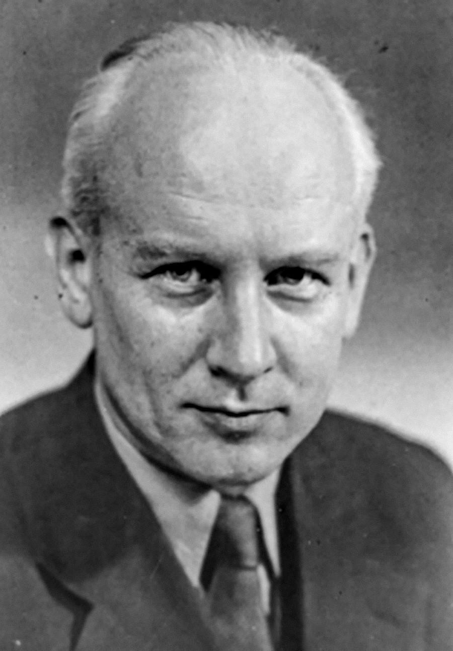 Pavel Klušancev, 1. lipnja 1965. Fotografija je napravljena iste godine kada je završeno snimanje njegovog znanstveno-fantastičnog filma