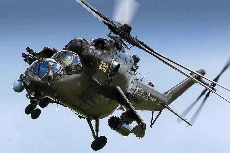 Ejemplar del Mi-35P