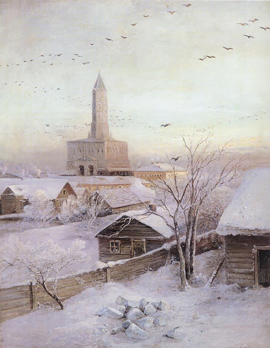 アレクセイ・サヴラーソフ、スーハレフの塔、1872年