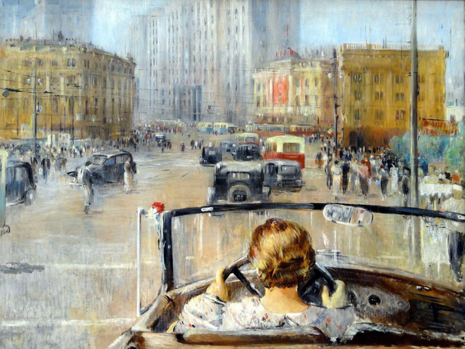 ユーリー・ピメノフ、新たなモスクワ、1937年