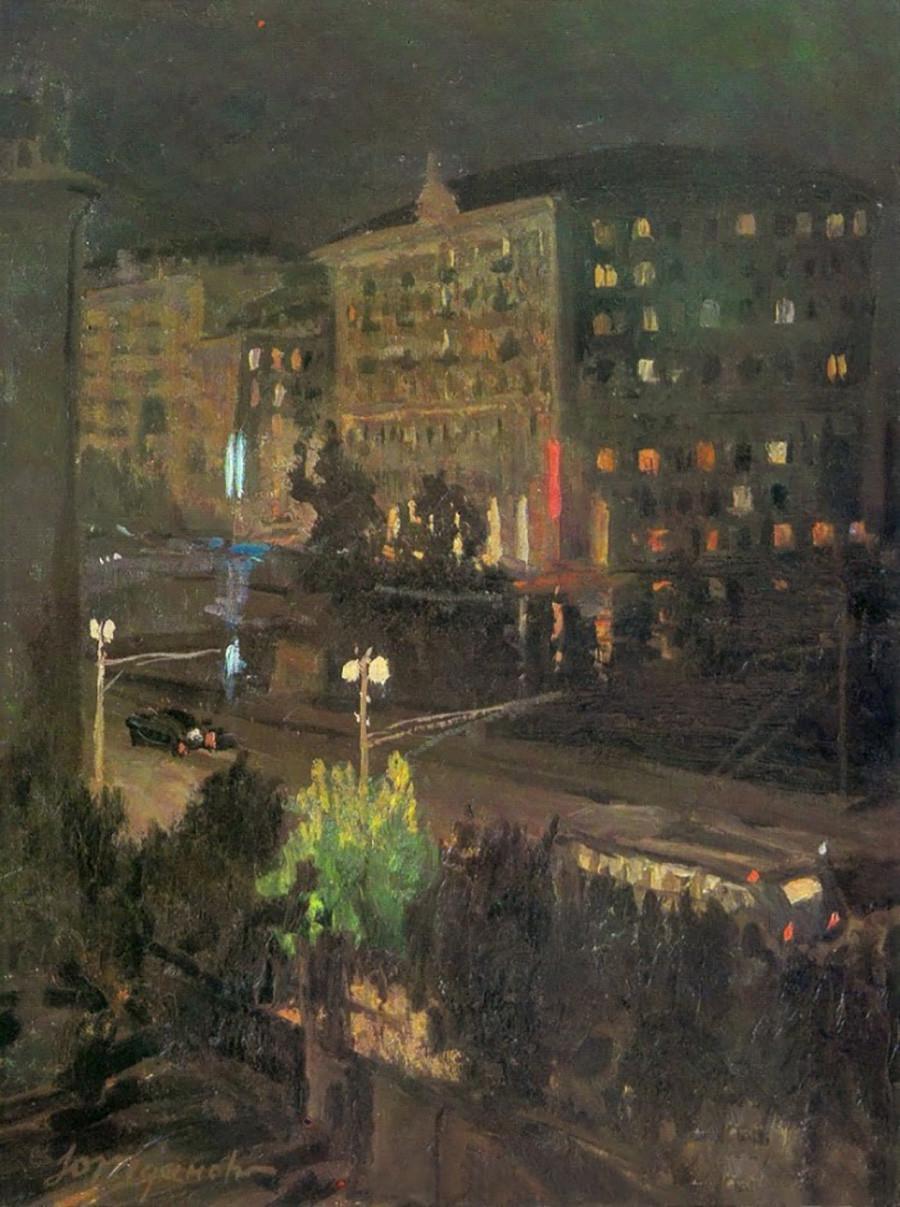 ユーリー・ジダノフ、モスクワのゆうべ、1955年