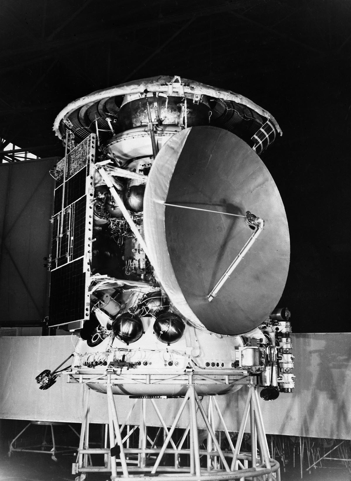 Die sowjetische interplanetare Station Mars 3 wurde am 28. Mai 1971 gestartet.