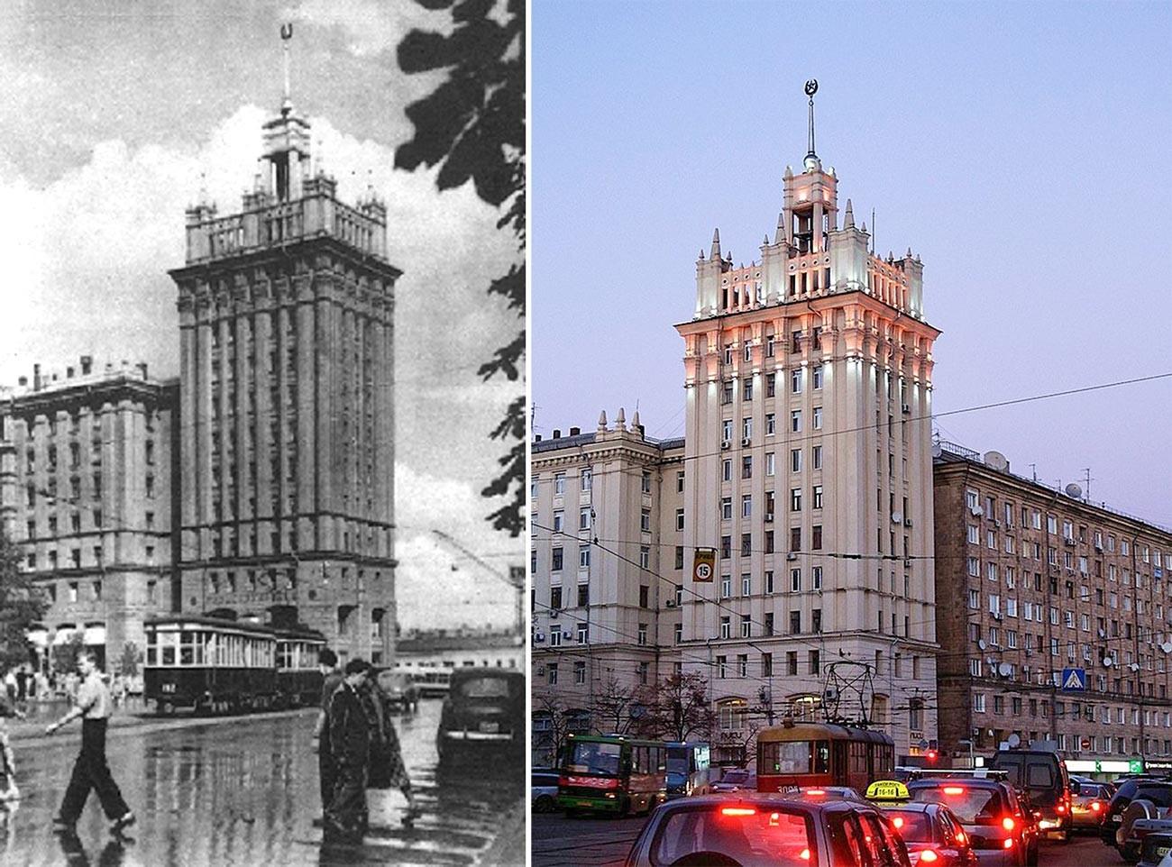 Zgrada sa šiljkom u Harkovu.