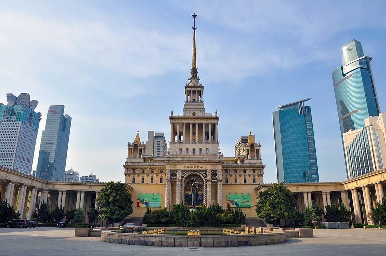 Dom sovjetsko-kineskog prijateljstva.