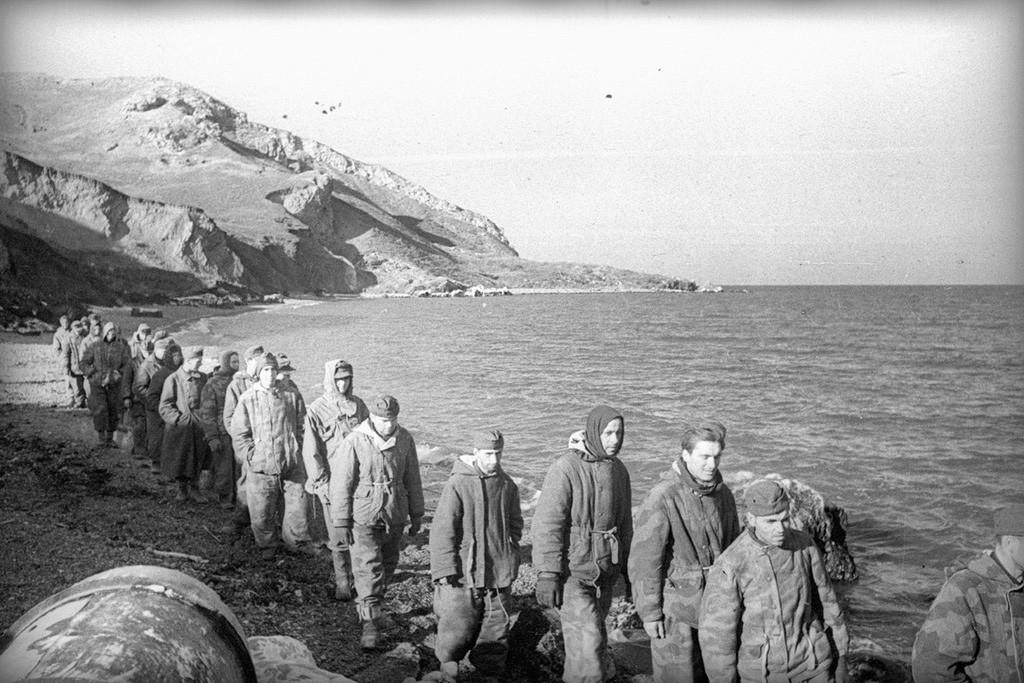 Prisonniers de guerre allemands, 1944
