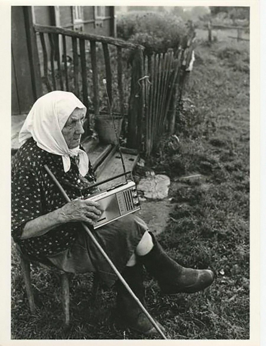 Une grand-mère à la campagne