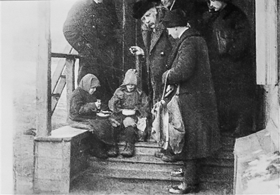 Нансен у Русији 1921-23.