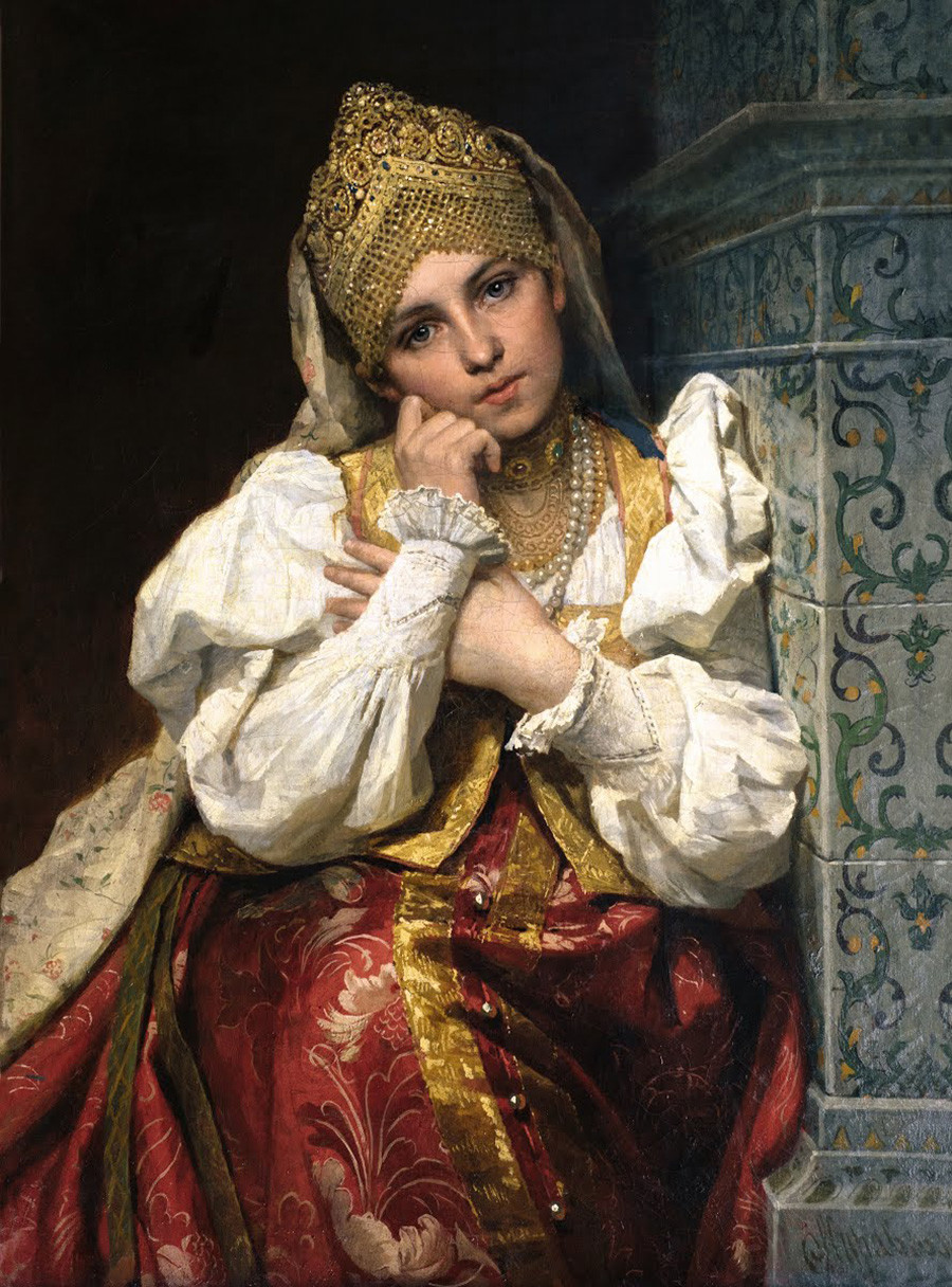 Boyarine par Firs Jouravlev, 1897
