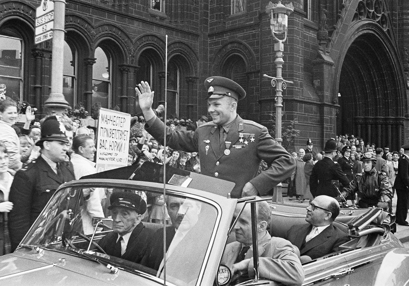 Gagarine en Grande-Bretagne