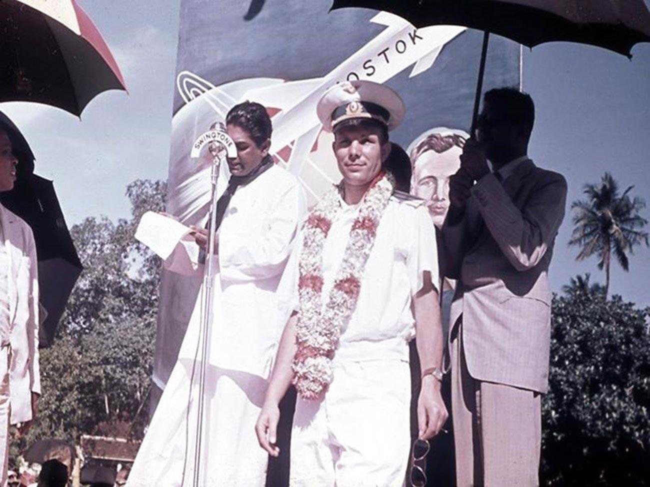Gagarine en Inde