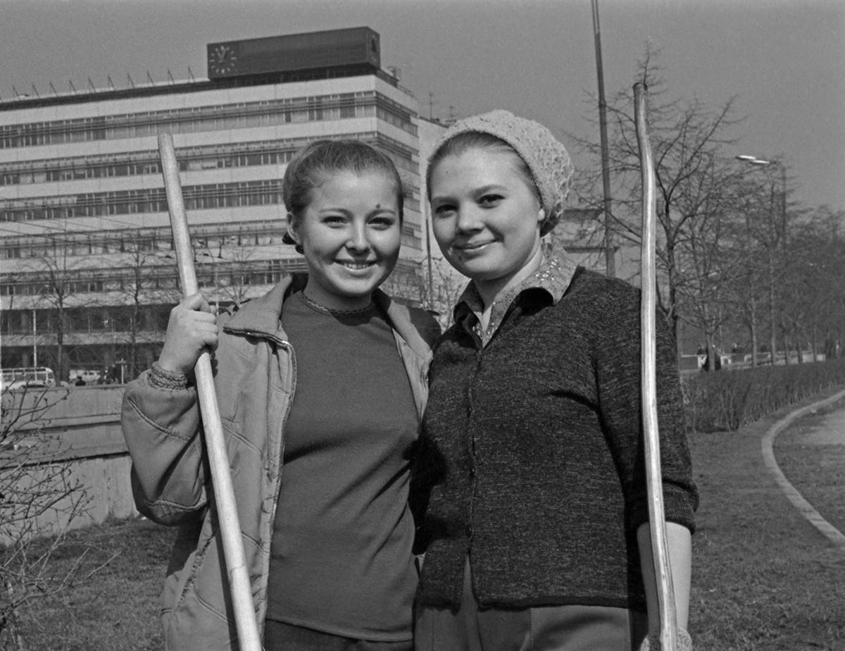 Soubbotnik en 1970