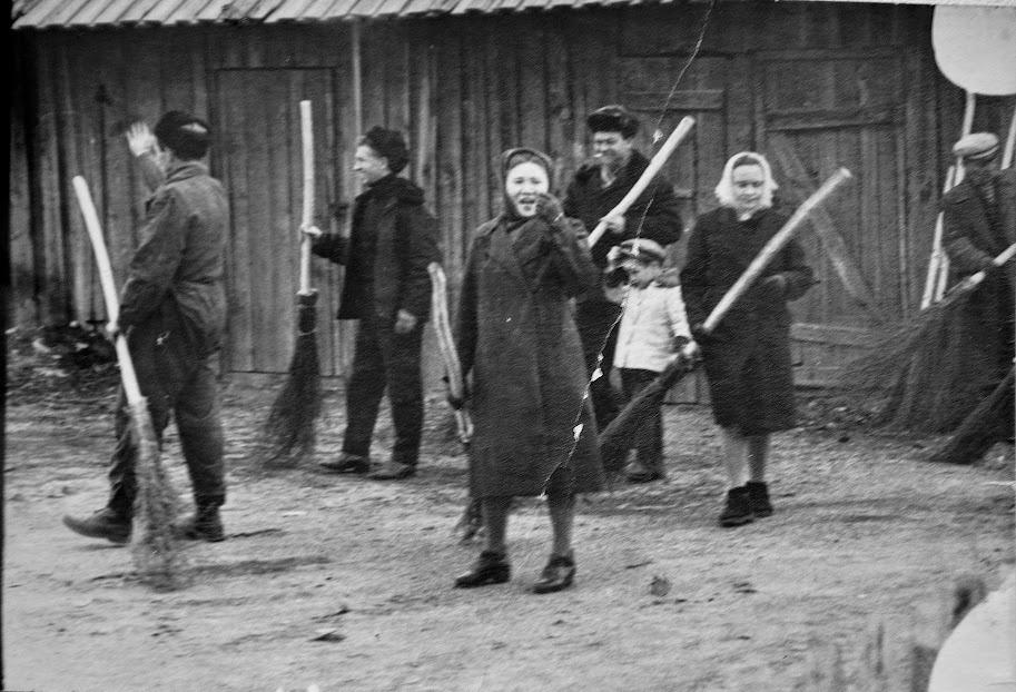 Soubbotnik dans la ville de Tchita, années 1960