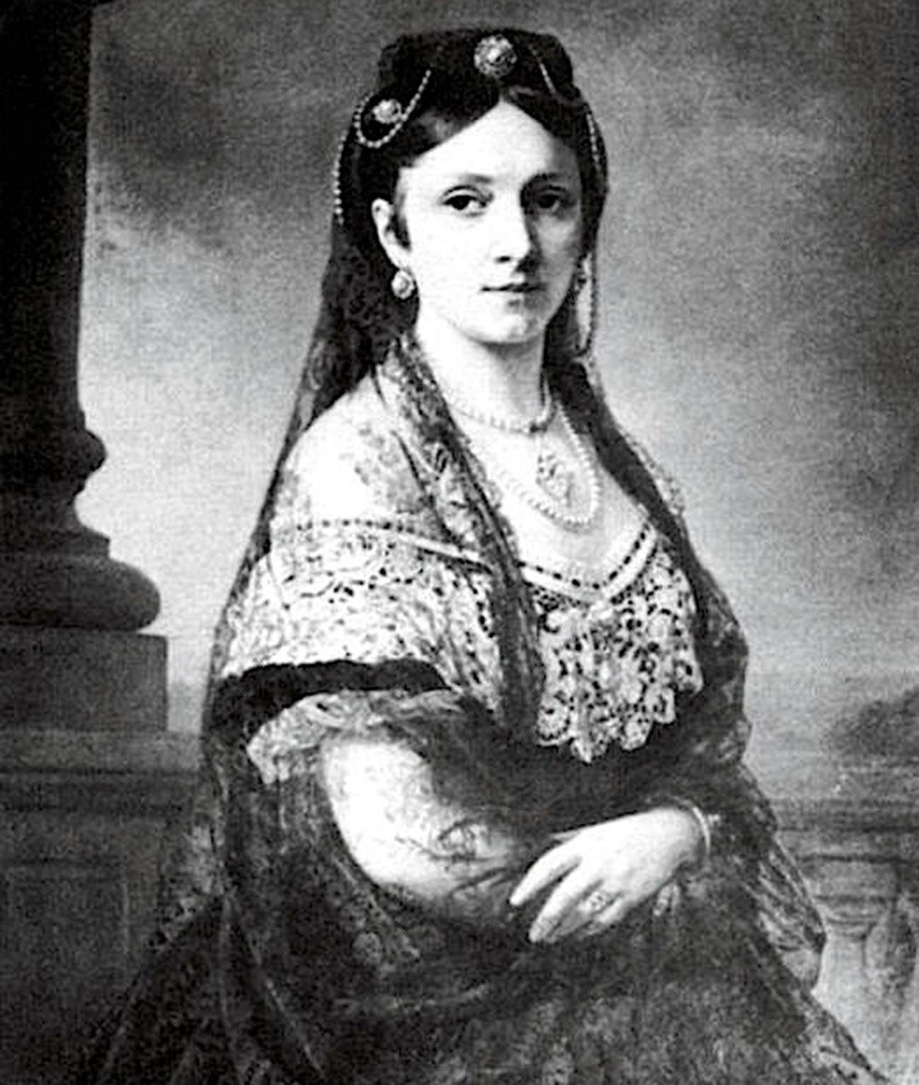 Júlia Hauke, Princesa von Battenberg