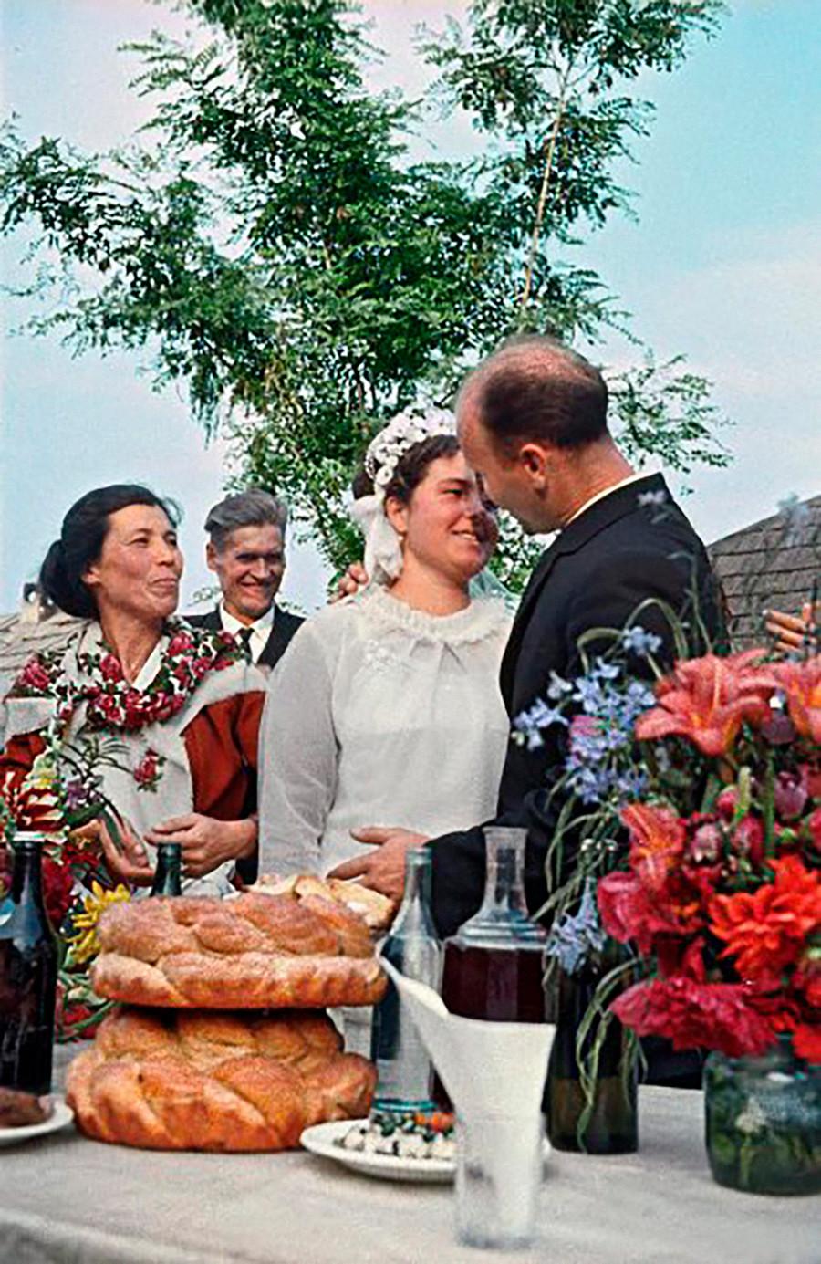 Un mariage des années 1950