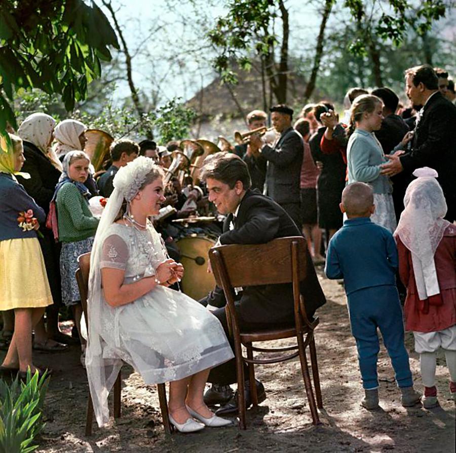 Un mariage dans la région du Kamtchatka, 1967