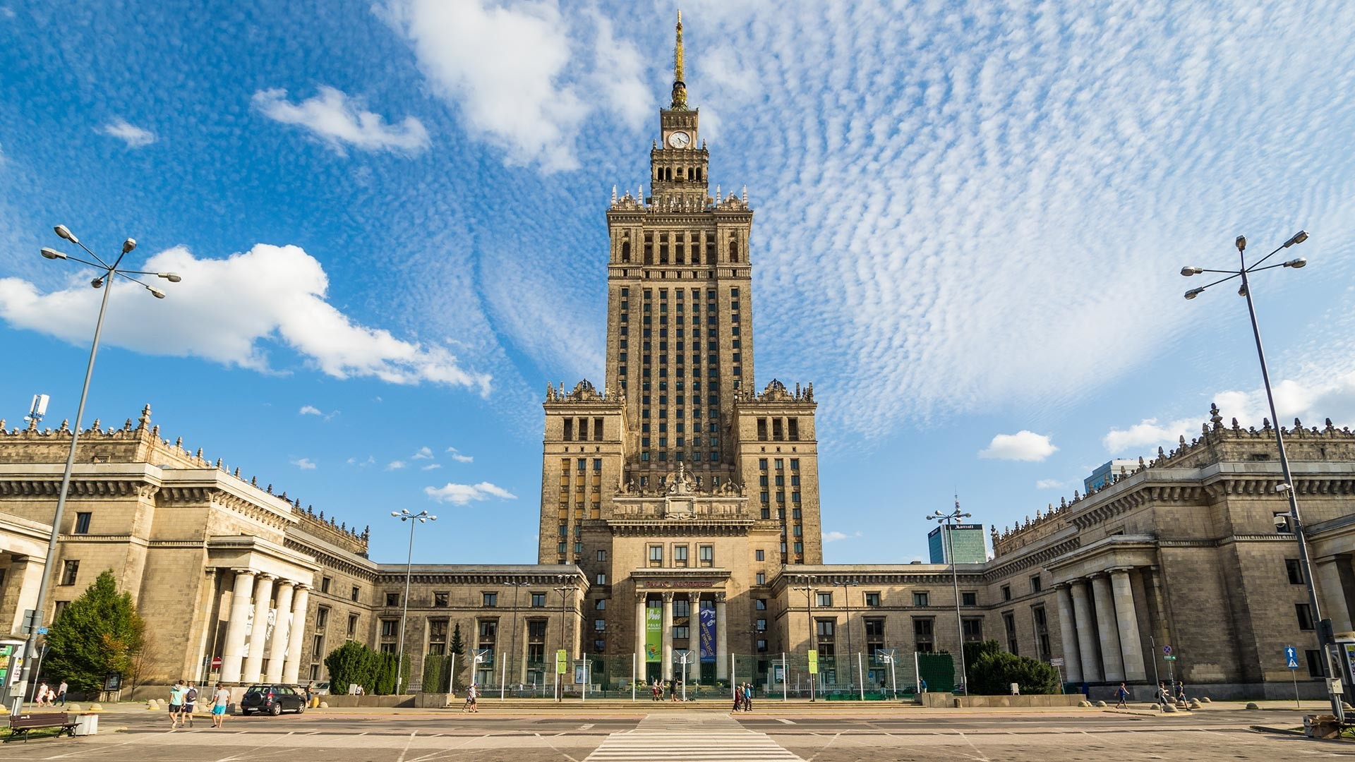 The Palace of Culture and Science, Warsaw.