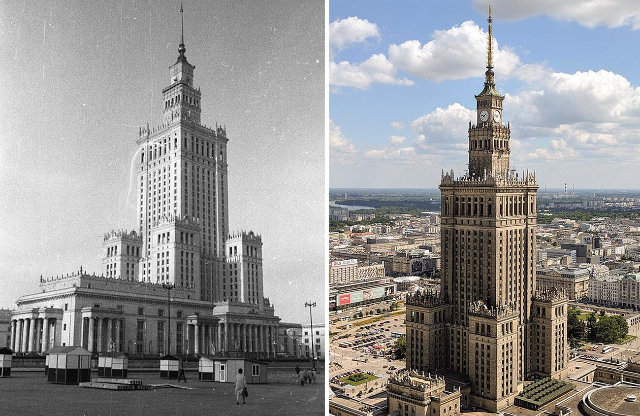 Palace of Culture and Science Warsaw.