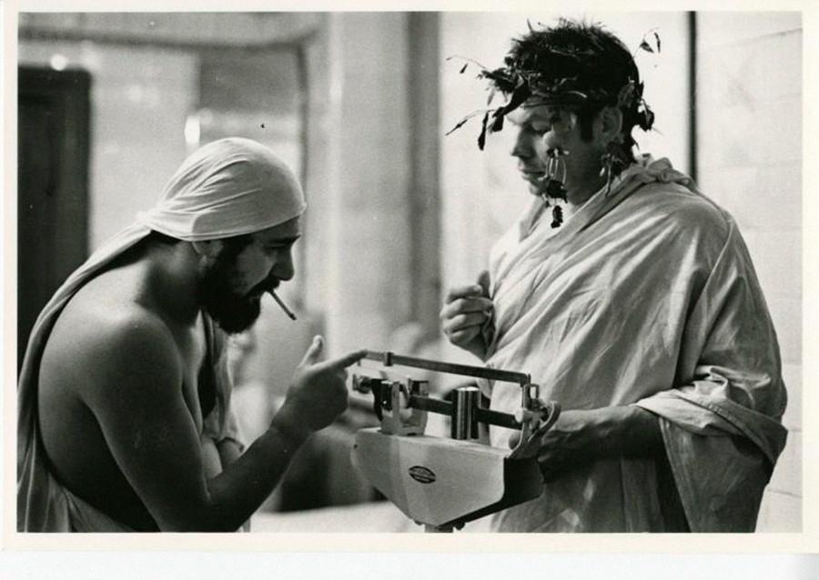 Due uomini in una banja