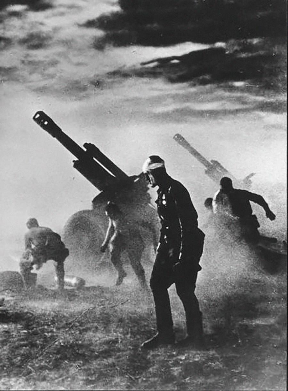 「死ぬまで耐えよう!」、1944年