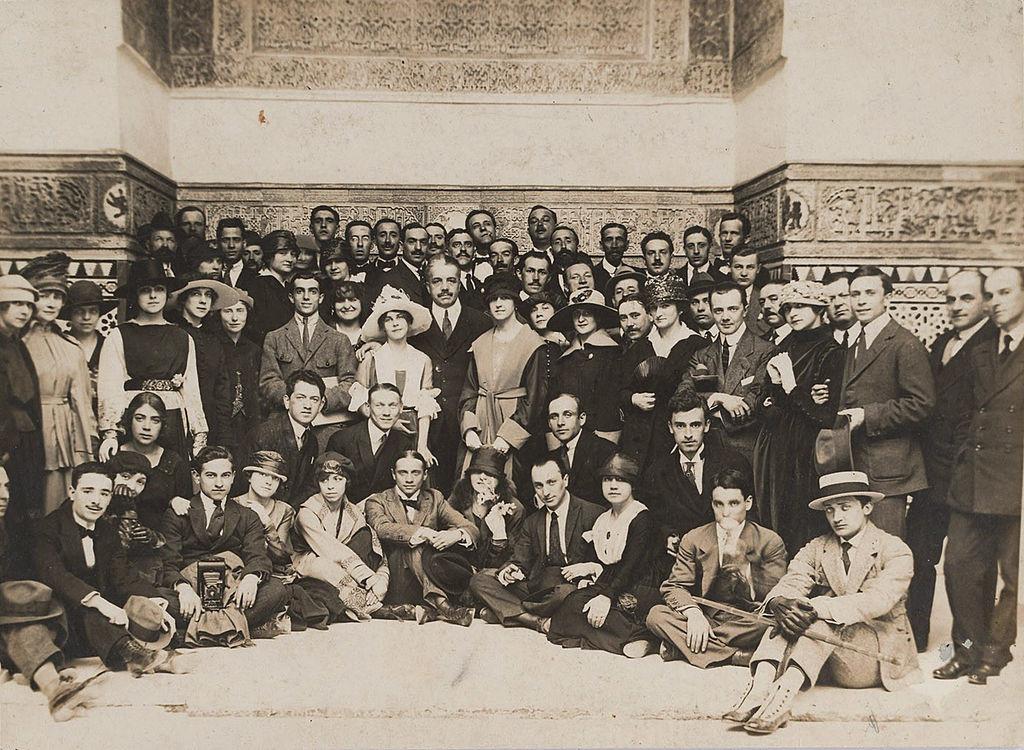 Ballets Russes em Sevilha, Espanha, 1916