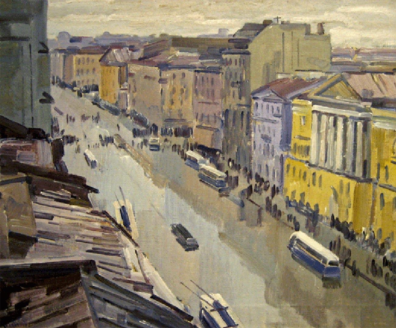 ネフスキー大通り、2007年