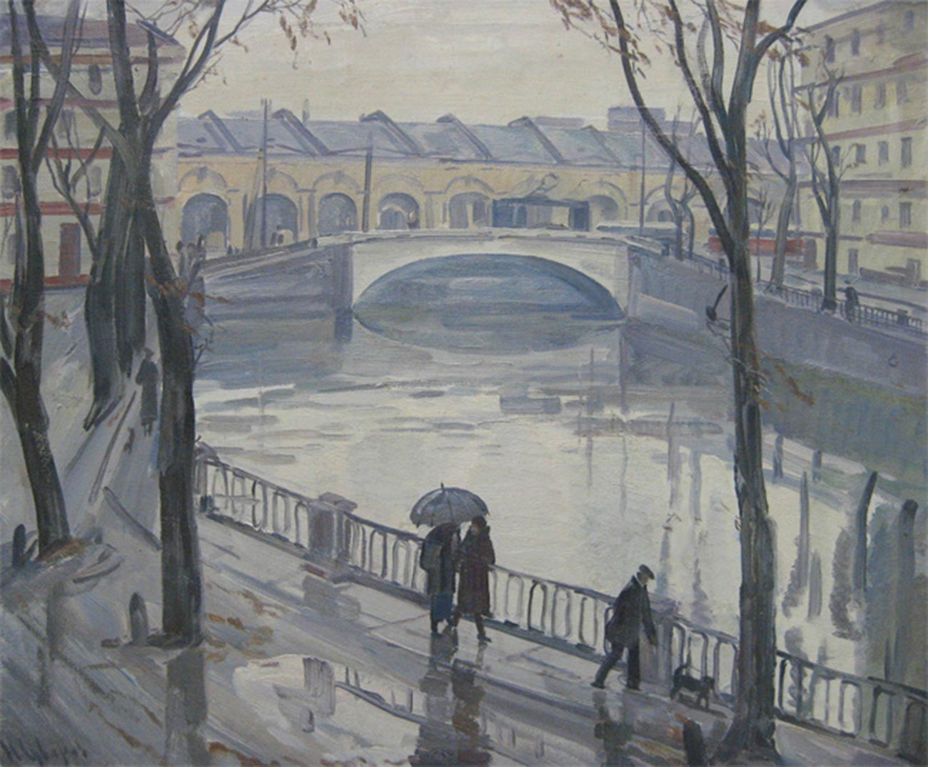 Canal Griboïedov, 1985