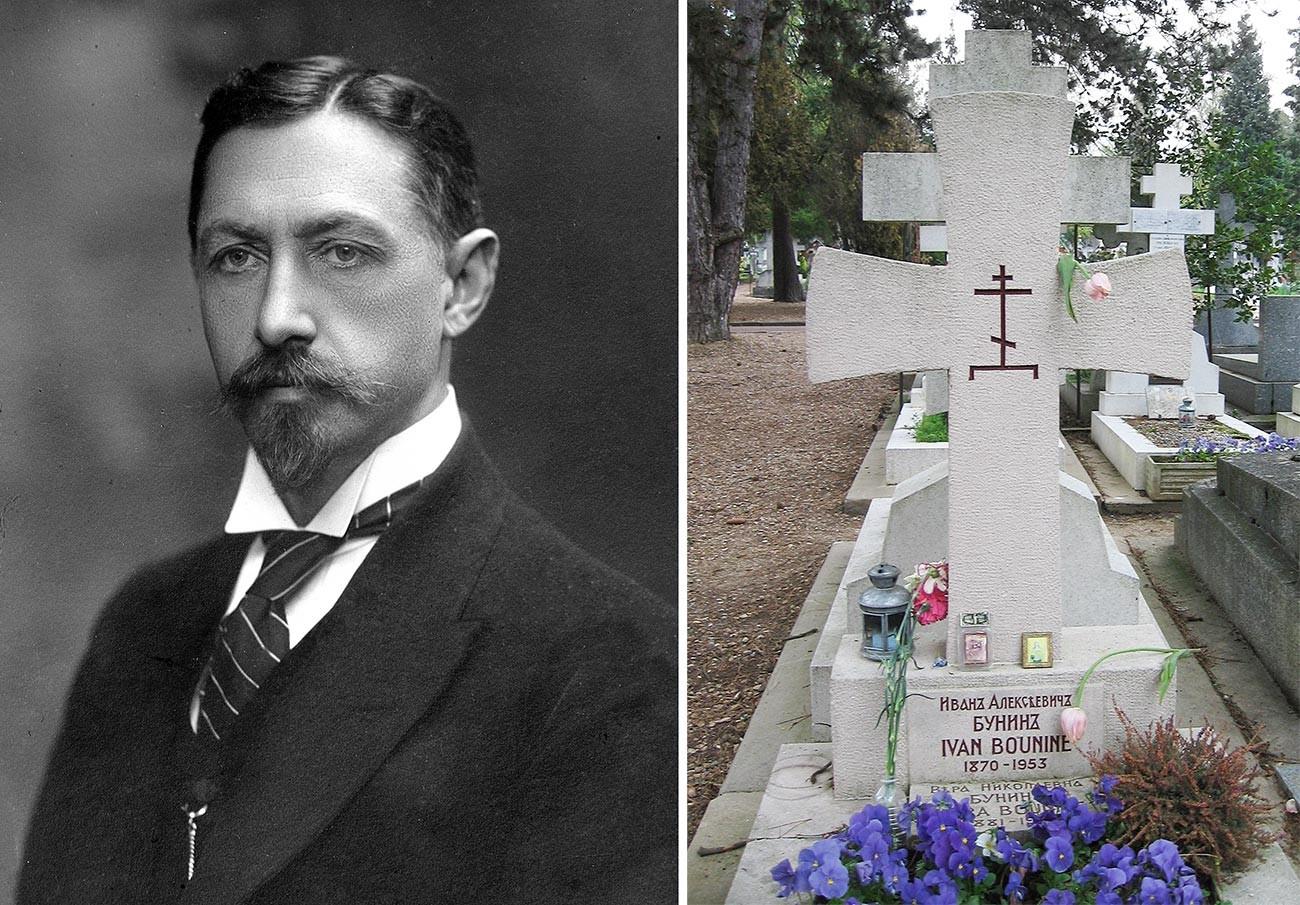 Iwan Bunin / Grab von Iwan Bunin