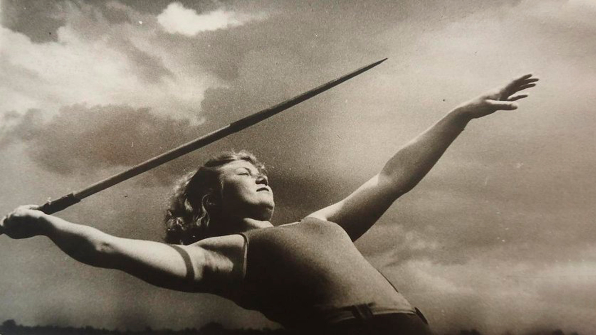 Lanceuse de javelot, 1937