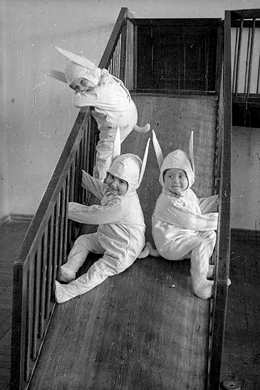 À la maternelle, années 1930