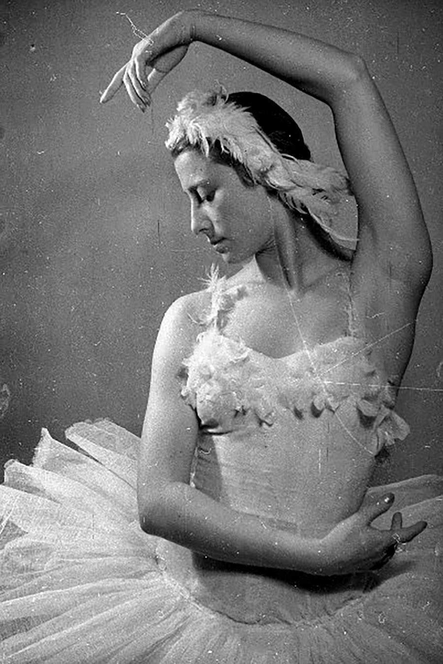 La ballerine légendaire Maïa Plissetskaïa