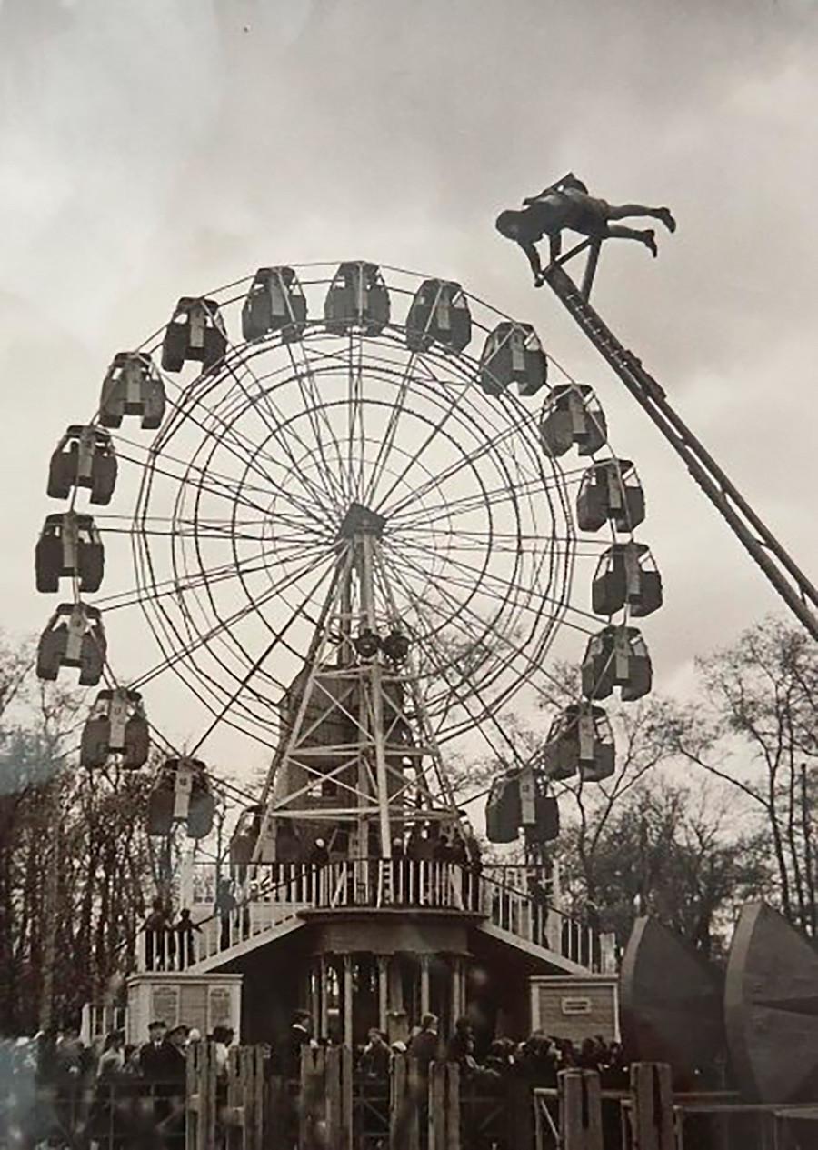 Dans le parc Gorki