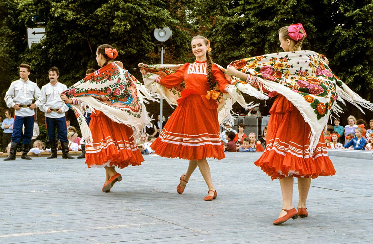 Un festival de danse folklorique
