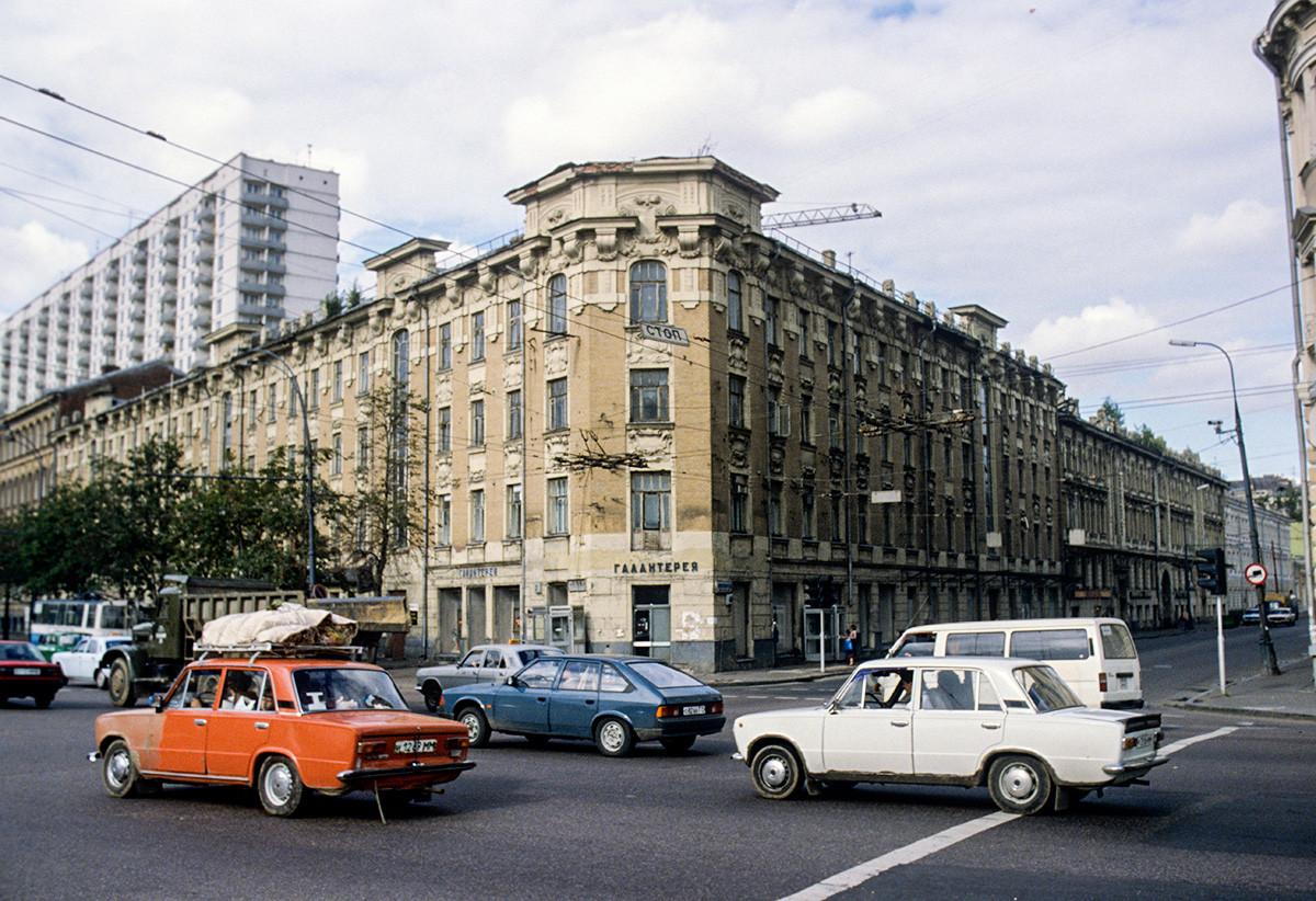 Place Zoubovski à Moscou
