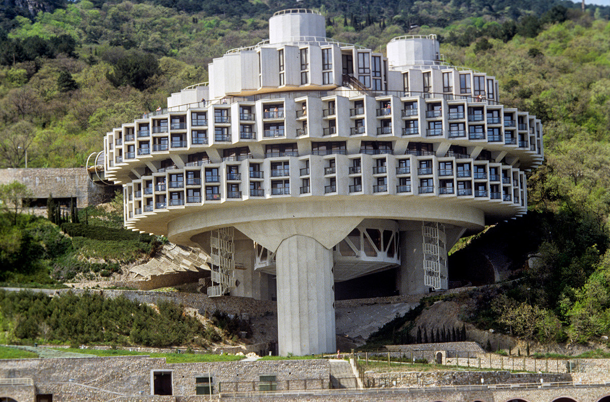 Un sanatorium en Crimée