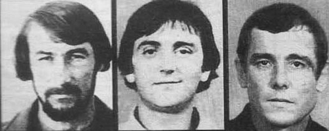 Valeriy Samoylenko, Sergei Lezhennikov, Dmitry Samoylenko.