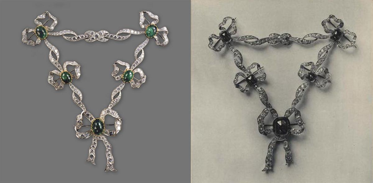 El collar soviético y el collar original