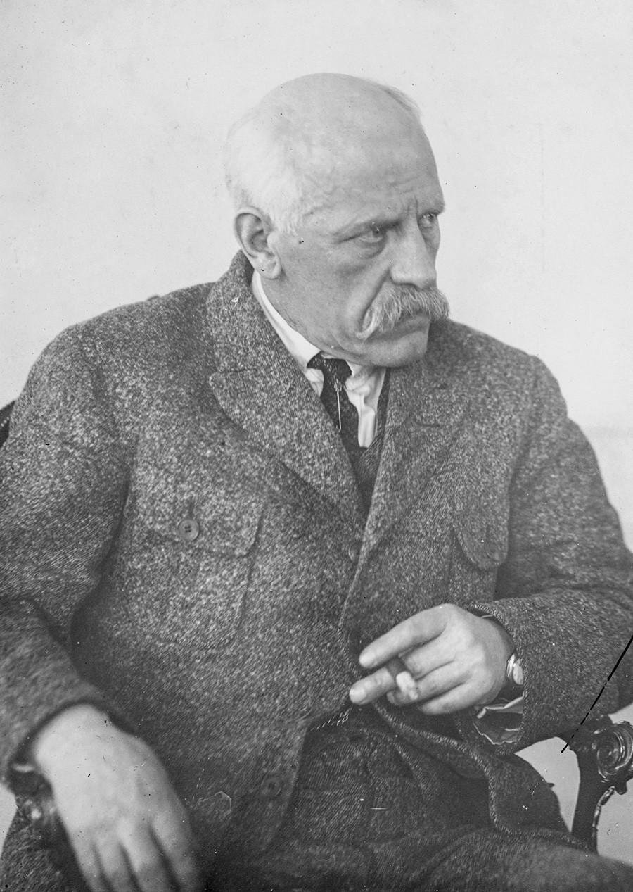Fridtjof Nansen in Russland im Jahr 1923.
