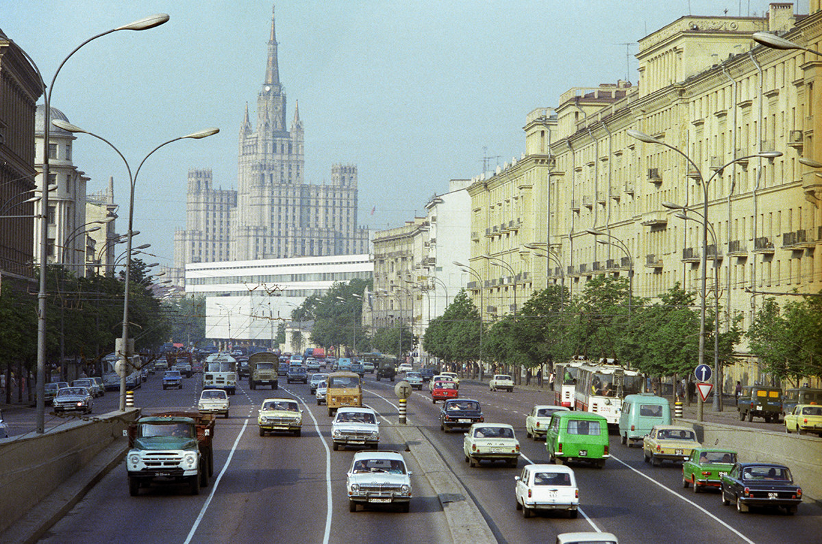 L'anello dei Giardini di Mosca