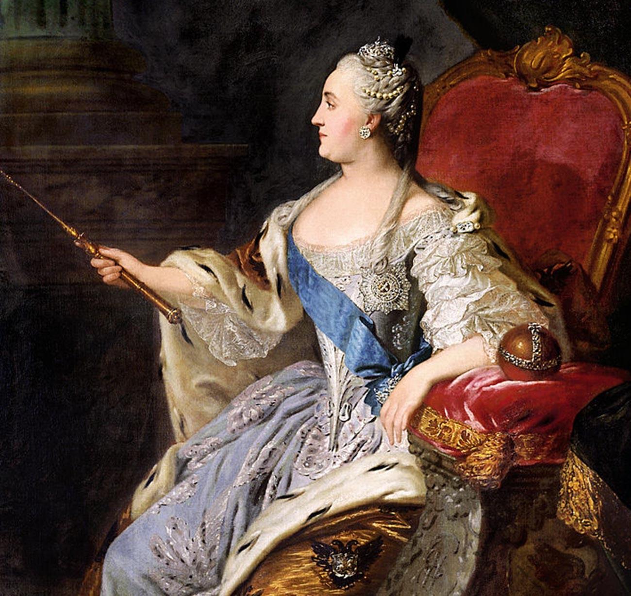 Портрет на Екатерина II