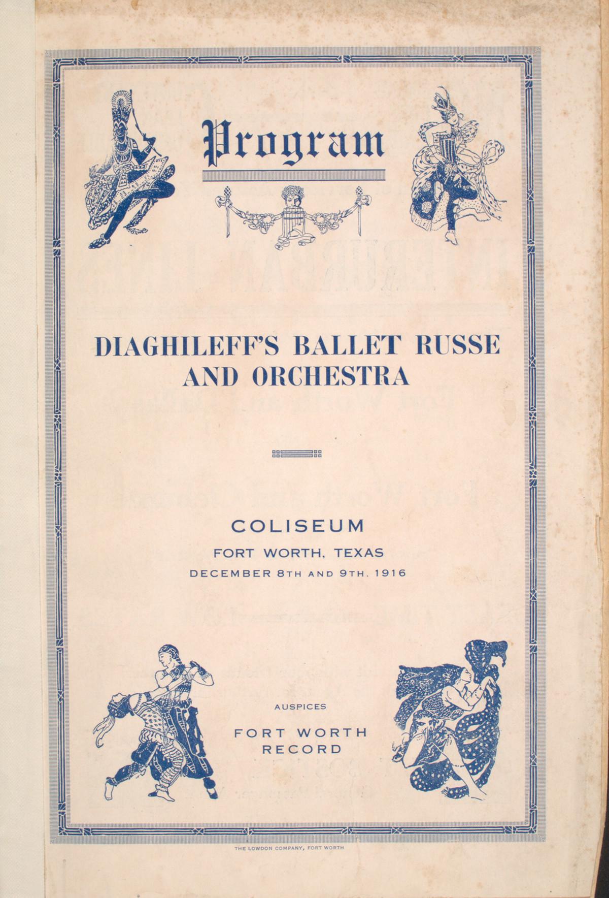 バレエ・リュスのポスター
