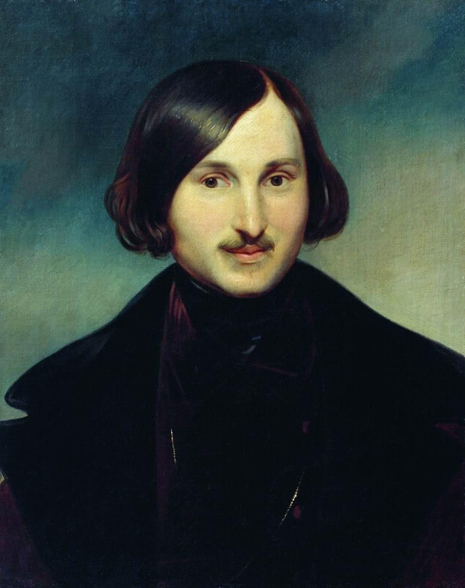 Portret Nikolaja Gogola, avtor Otto Friedrich Theodor von Möller.