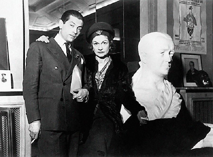 Serge Lifar et Coco Chanel
