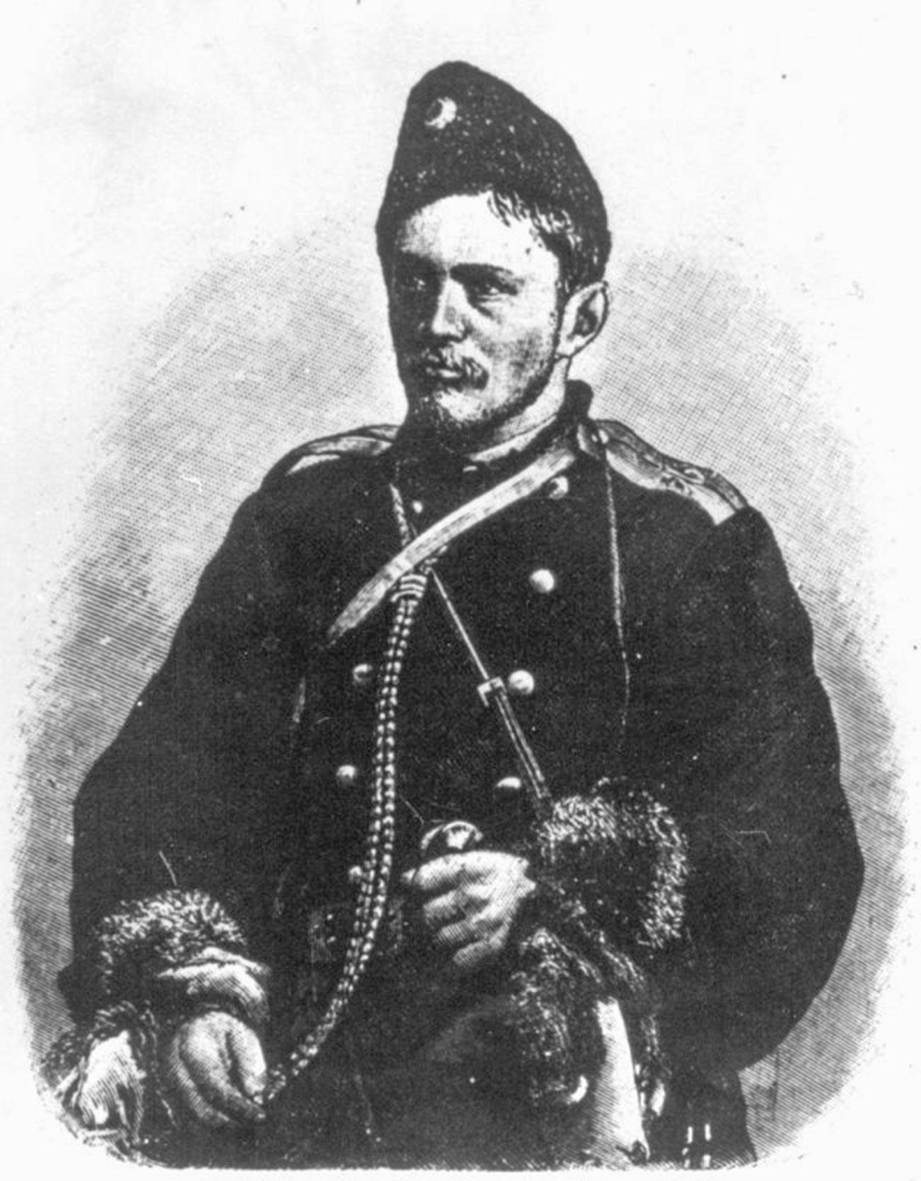 Dmitrij Nikolajevič Pješkov, amurski kozak